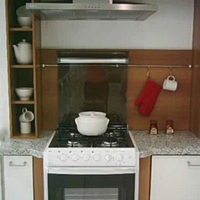 Balcão de Cozinha com Pia e Fogão